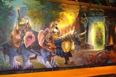 《魔兽世界》主题餐厅给你不一样的感受