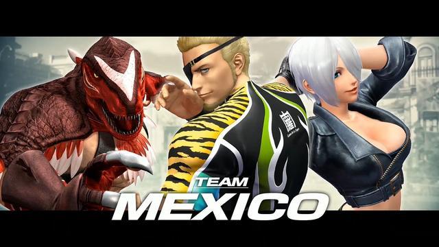 《拳皇14》墨西哥队预告片 袭胸大招亮相