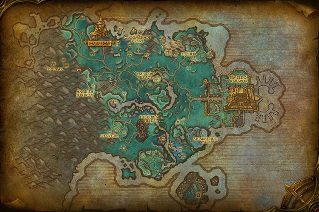 魔兽世界《德拉诺之王》地图预览——影月谷