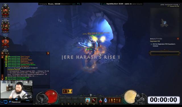 可遇不可求 暗黑破坏神3 玩家放出1分钟满级视频