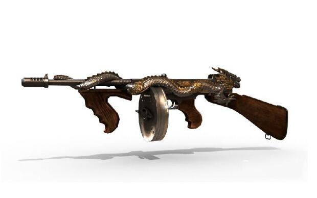 枪械漫画手绘