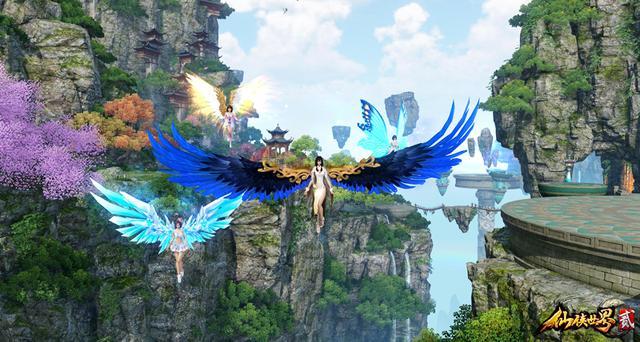 《仙侠世界2》飞天公测 今日14时准时开启