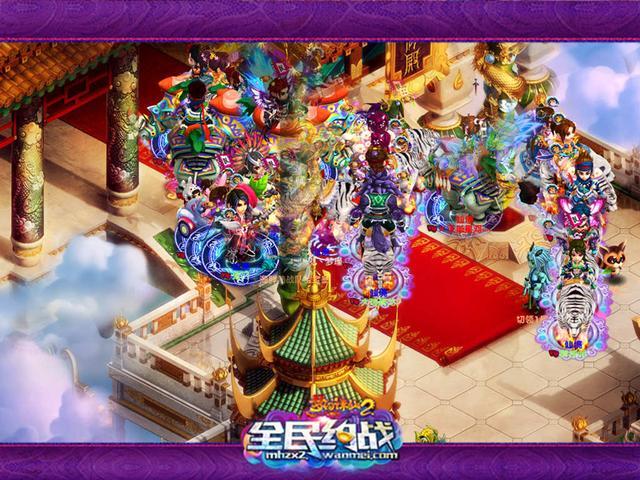 今日12点《梦幻诛仙2》新服燕梦征兰闪耀开启