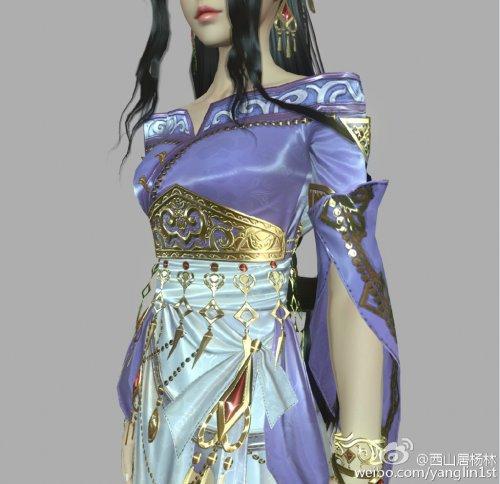 剑网3重制版新进展 视距增大丝绸材质淡雅
