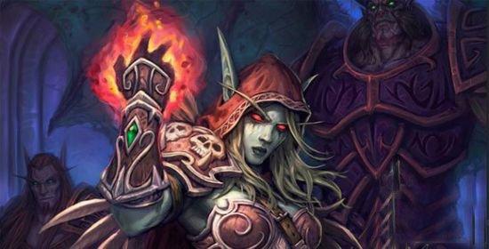 魔兽世界女英雄:风行者三姐妹之希尔瓦娜斯