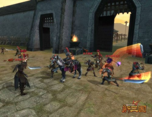 《赤壁·新三国》三国勇士火速支援