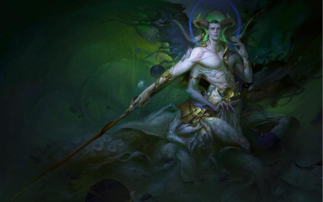 paganlau《海族领袖——小绿》