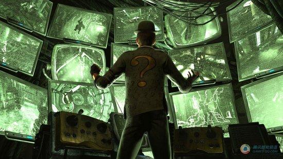 《蝙蝠侠 阿卡姆城》强敌人谜语人出现