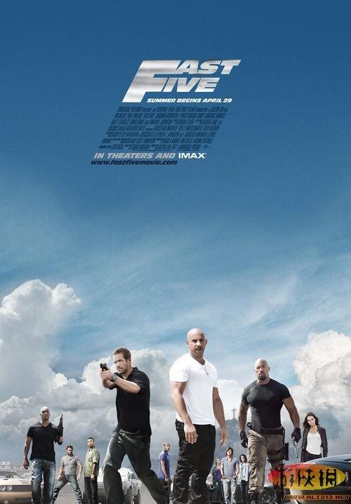 2011年十大盗版电影 速度与激情5位列第一 游