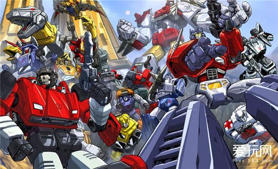 玩具人变形游戏《变形金刚》出发战线大汽车v玩具视频会议图片