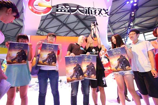 龙之谷大电影美术指导赠送亲笔签名海报