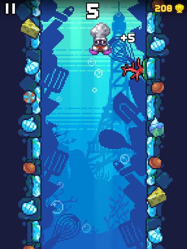 《乌贼历险记》评测:刺激的水下拱廊躲避