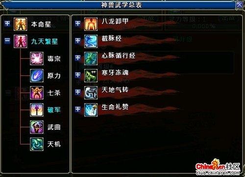 中华英雄神兽:加点配合职业 品质优于等级