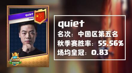 《皇室战争》CCGS全球总决赛出征选手分析:风神&静战者!CN CR,BEST CR!