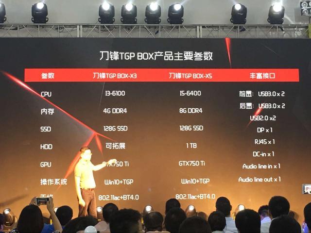 国产主机刀锋TGP BOX发布 最低售价3599
