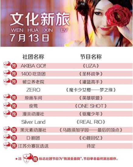 金面具Cosplay盛典7月13-14日决战北京剧院