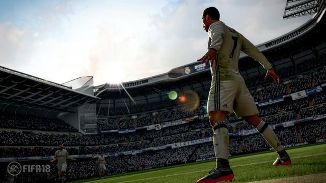《FIFA 18》公布皇马C罗代言 9月底上市登陆
