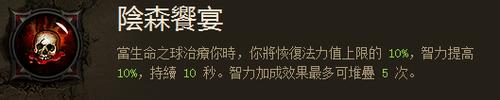 暗黑3最强奶妈 巫医辅助队友无限血蓝