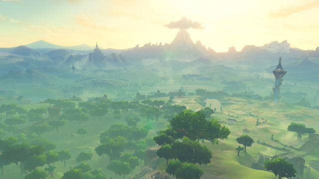 《塞尔达传说:野之息》是林克的孤独之旅图片