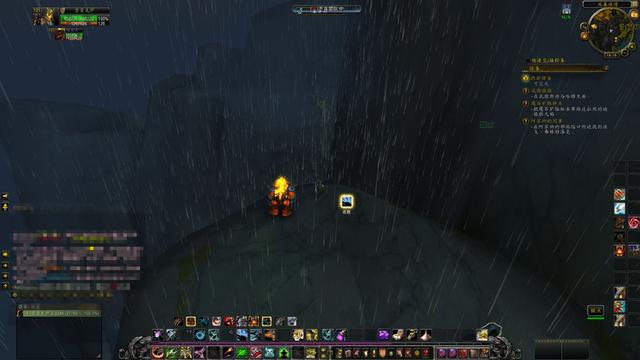 魔兽7.0猎人为守灵魂兽 无意间发现英灵殿峭壁宝箱