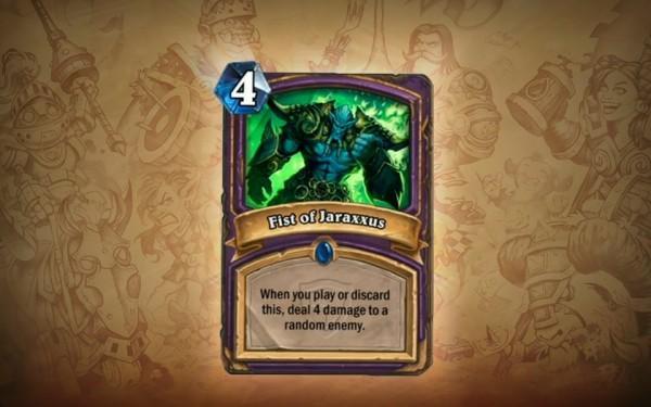 《炉石传说 魔兽英雄传》公布职业新卡牌