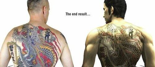 纹身最终效果