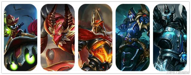 王者荣耀三大教父,五骑士和六位王分别是谁?