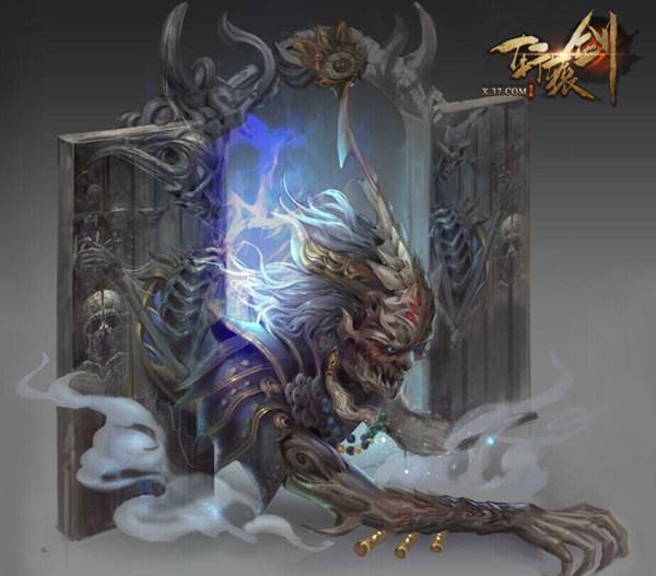 轩辕剑之天之痕 探索怪物聚集地
