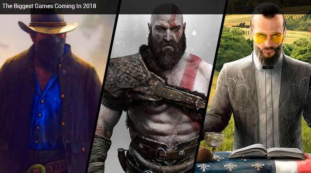 怪猎世界来了 2018游戏新作上市时间汇总