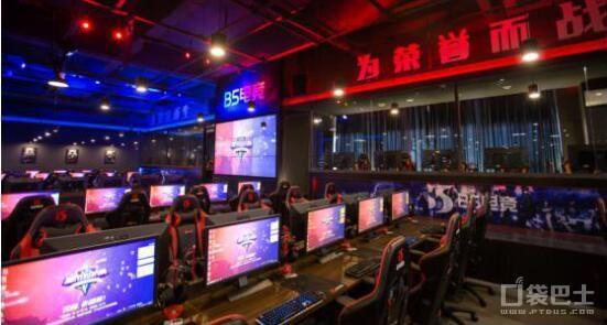 B5电竞馆上海旗舰店竞技区