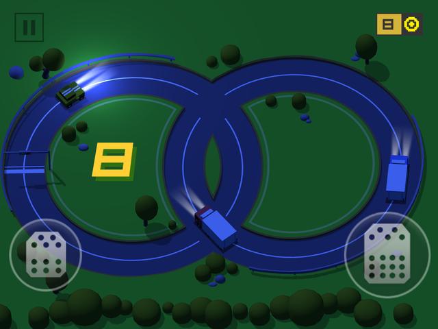 《环形驾驶:碰撞大赛》评测:奇葩小游戏一枚