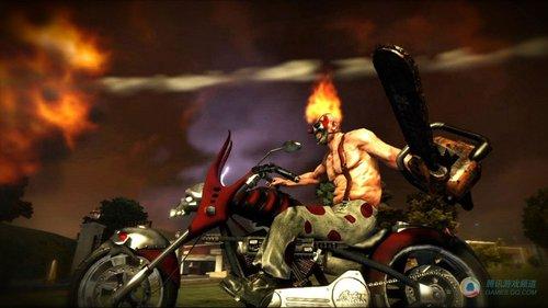 索尼发行暴力游戏《小丑赛车》e3公布