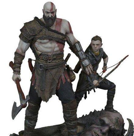 《战神》奎托斯父子雕像开卖