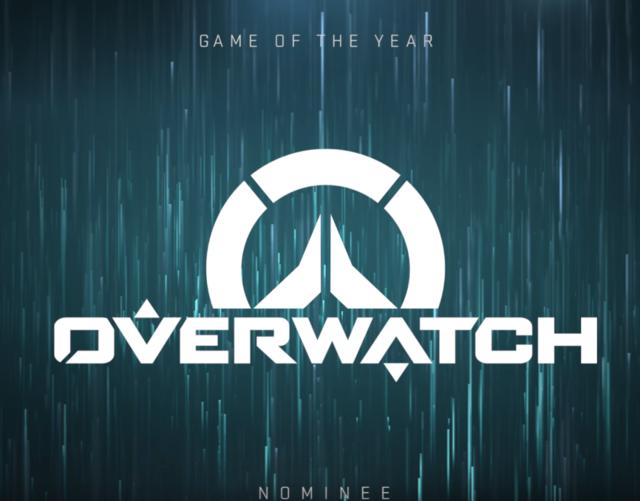 TGA2016公布获奖提名 《守望先锋》成年度游戏热门
