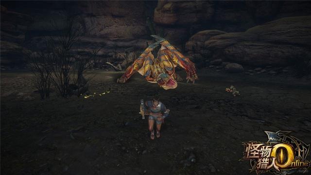 强者君临 怪物猎人OL新怪物轰龙3月1日登场