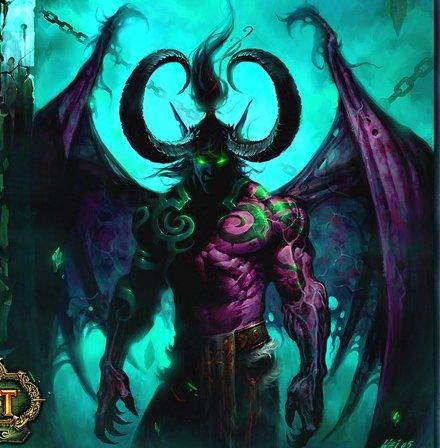 魔兽世界历史上四大半神