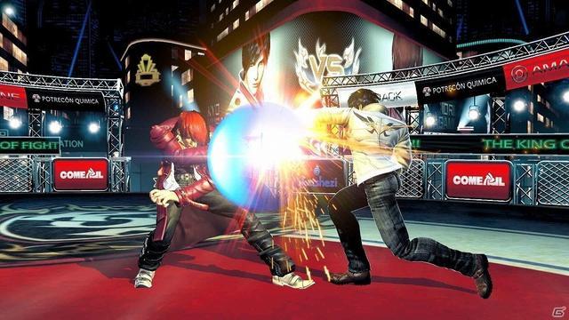 拳皇14详情:50名角色可使用 多人模式能3v3