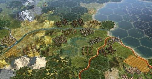 《文明5》深度的游戏点评:AI和游戏曲线