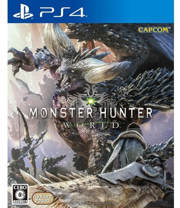 2018日本游戏销量榜:《怪猎世界》近200万高居榜首