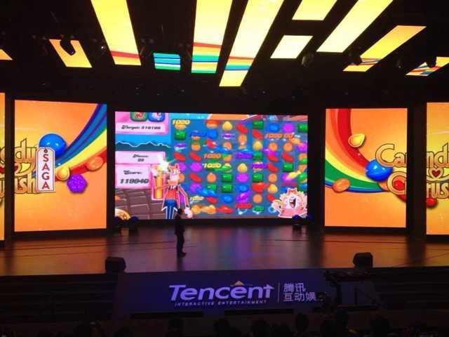 腾讯移动游戏平台宣布代理《糖果粉碎传奇》