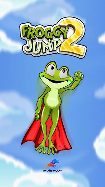 《青蛙跳跃2》评测:卡通小清新的重力感应游戏