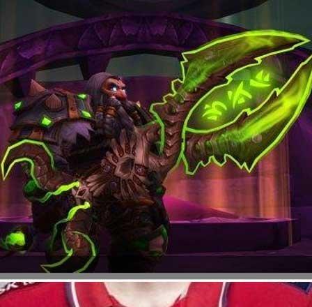 魔兽新神器挑战外观曝光