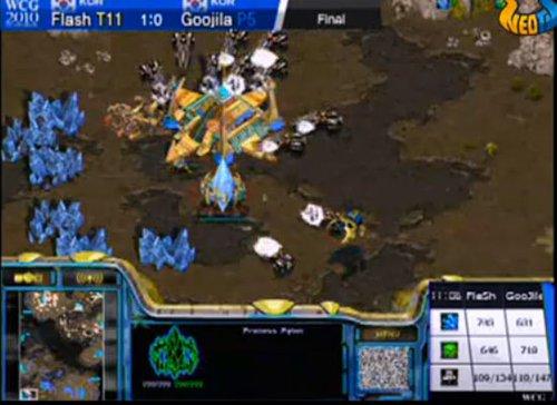 星际争霸总决赛:Flash 2:0推倒Kal