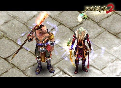 血战销魂《刀剑英雄2》新版绝密装备