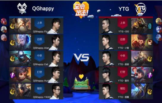 KPL综述:梦奇首秀失败 QGhappy完成12连胜