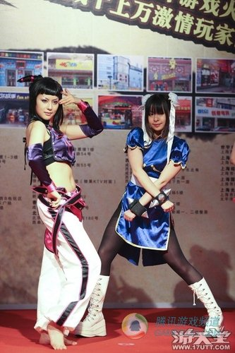7.8上海国际动漫展超级街霸4COSPLAY