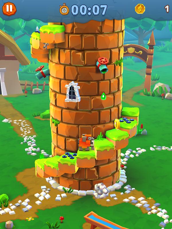 《像素城堡》评测:小动物们的飞天梦想