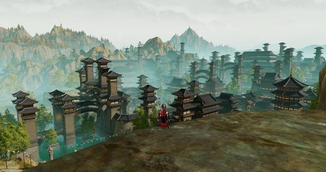 《剑网3》重制版图赏:处处5A风景区