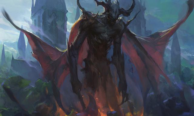 卡牌游戏万智牌《依尼翠暗影》之狼人的故事