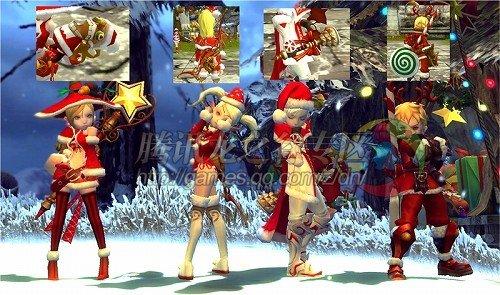 龙之谷日服圣诞场景22日与国服同时更新